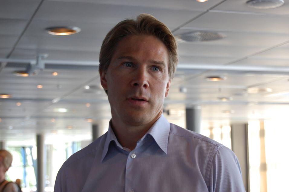 Telenor Digital services-sjef Rolv-Erik Spilling har en stor oppgave med å skape suksess både i nysatsinger og en rekke underskuddsforetak.