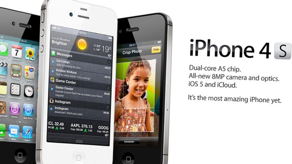 Apple har lansert Iphone 4S