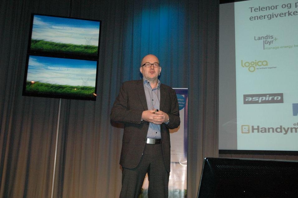 Partneransvarlig Pål Normann Johansen i Telenor Business har sterk tro på M2M-markedet fremover.