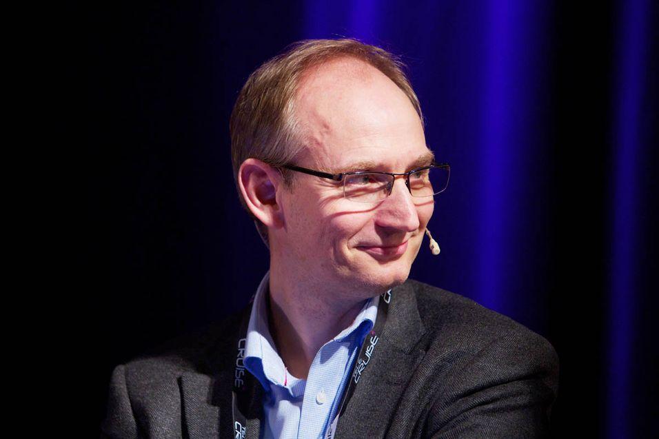 Harald Krohg er leder for Telenors grossistbutikk, Jara.