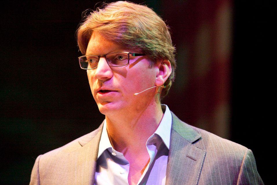 Skype-gründer Niklas Zennström er i gang med nytt selskap som skal drive ned prisen på mobildata. Foto: Thomas Schlijper