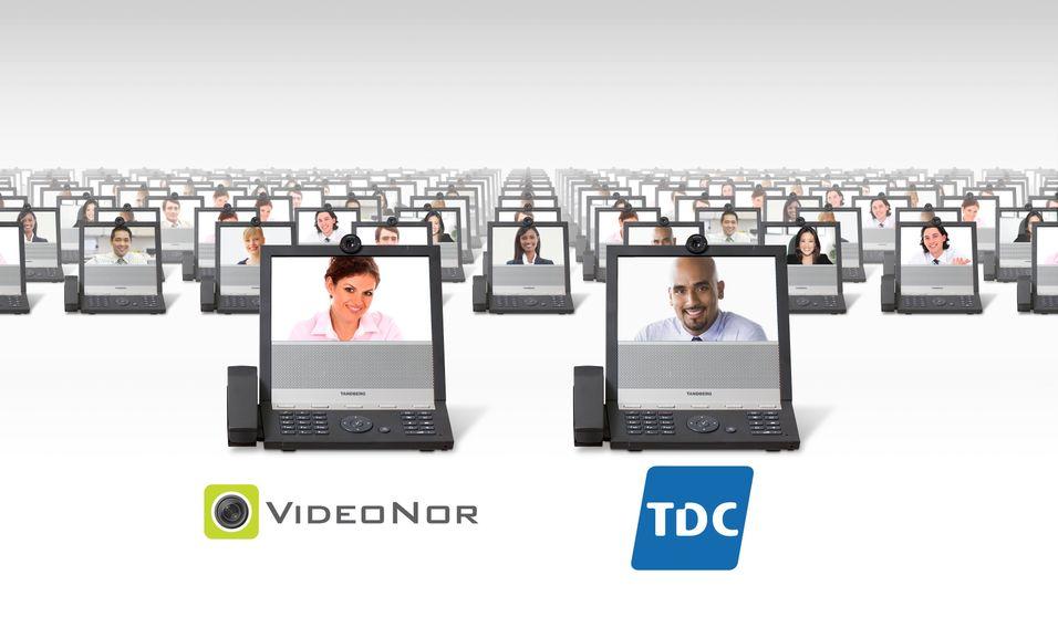 TDC samarbeider med Egil Skibenes-eide Videonor om sin videokonferanseløsning.