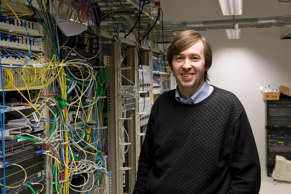 Teknisk direktør Olaf Schelderup i Uninett. Foto: Uninett