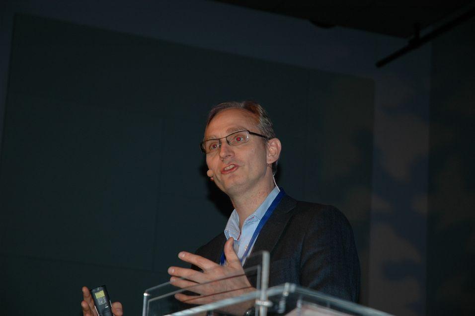 Telenors Harald Krohg er leder for selskapets grossistvirksomhet.