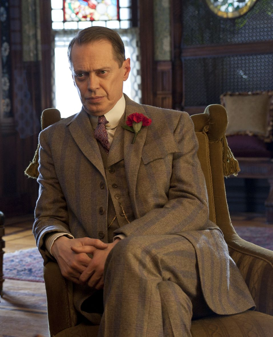 Steve Buscemi som Nucky Thompson i HBO-serien Boardwalk Empire.