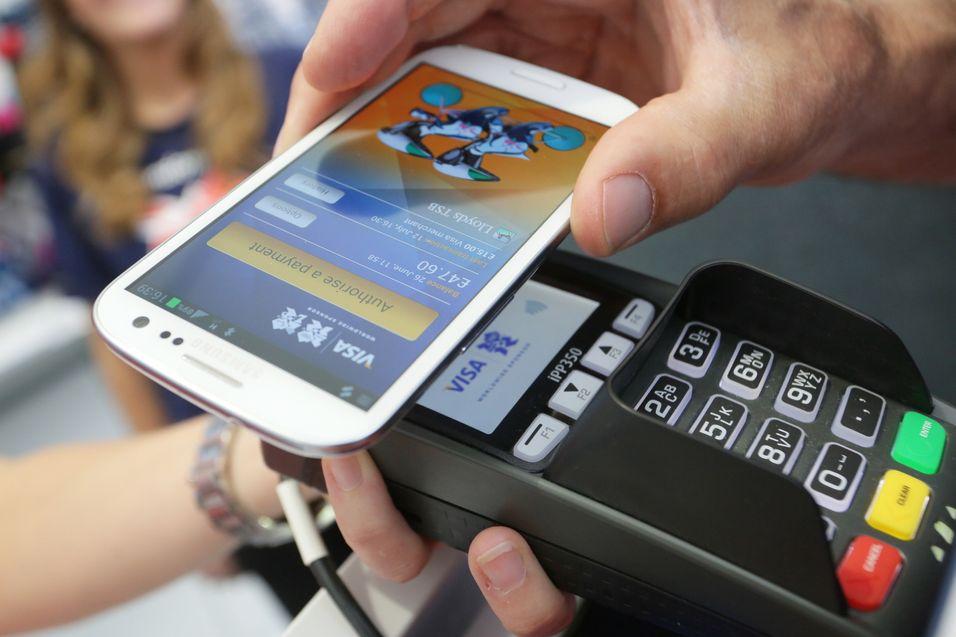 Slik ser Visas Paywaveteknologi ut i bruk.