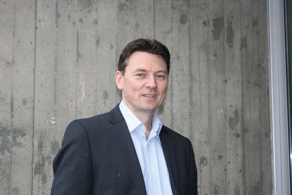 Teknisk direktør Geir Løvnes møter i retten for Tele2.