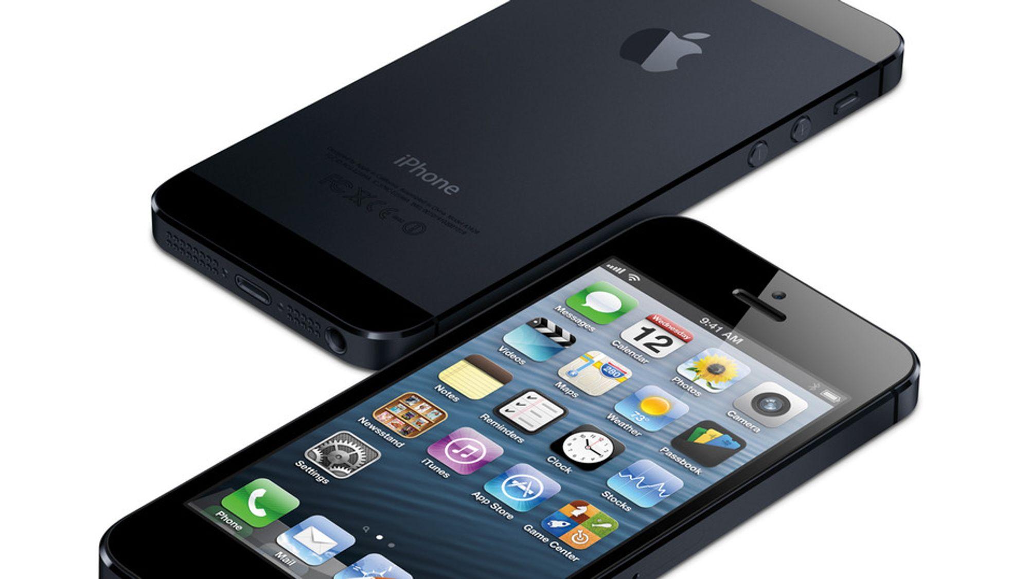 Iphone 5 kan gi EE et verdifullt 4G-forsprang på konkurrentene. Nå truer de med å saksøke Ofcom.