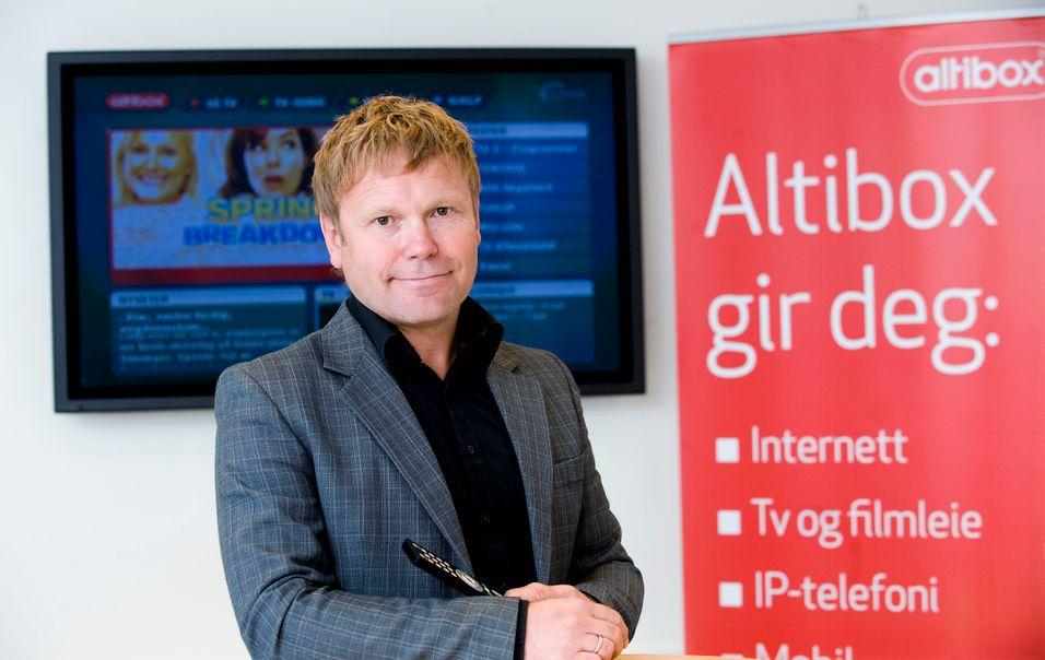 Teknologidirektør Tore Kristoffersen i Altibox har valgt Huawei som ny leverandør av WDM-utstyr.