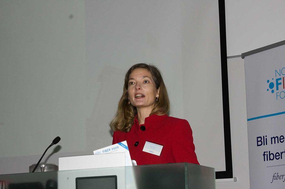 Marit Wetterhus i Nexia er overrasket over at så få fylkeskommuner har en enhetlig framføringspolitikk.