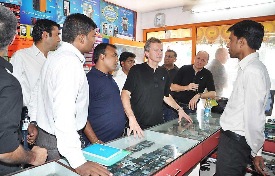 Telenor med 6-10 prosent i India