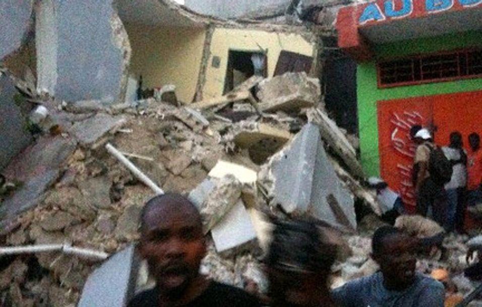 Teletrøbbel hemmer nødhjelp i Haiti