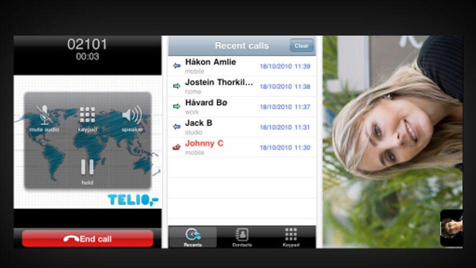 Telio satser på innovasjon i kampen om kundene, blant annet i form av Iphone-applikasjonen Teliophone.