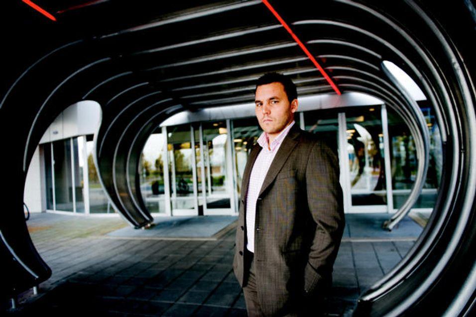 Kenneth Fredriksen er daglig leder for ZTEs Telenor Business Unit.