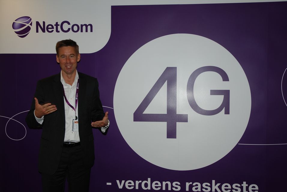 Netcom-sjef August Baumann vil ikke utsette selskapets 4G-utbygging som følge av Samferdselsdepartementets termineringsvedtak.