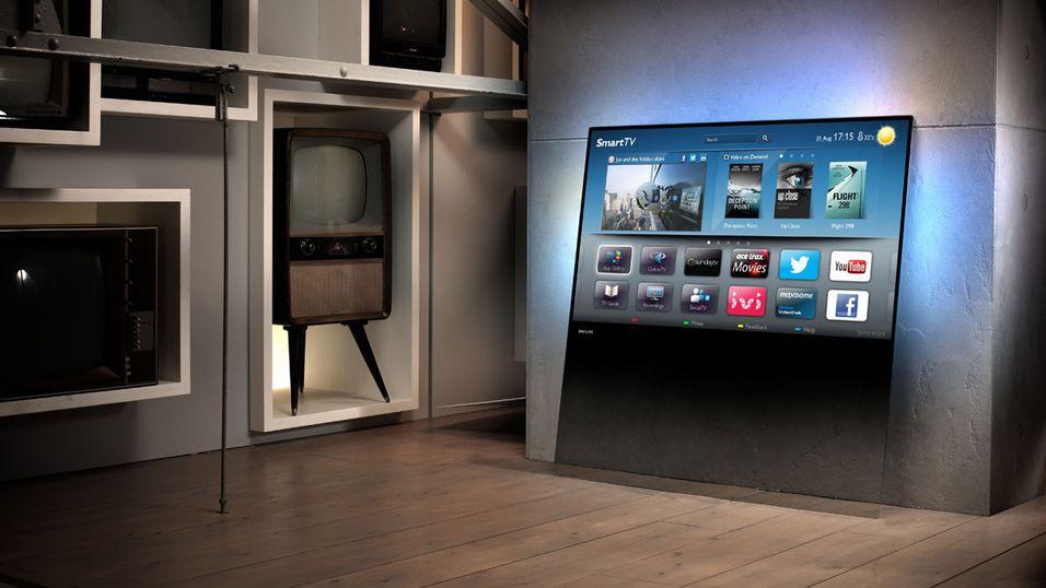 Philips lanserer en unik TV