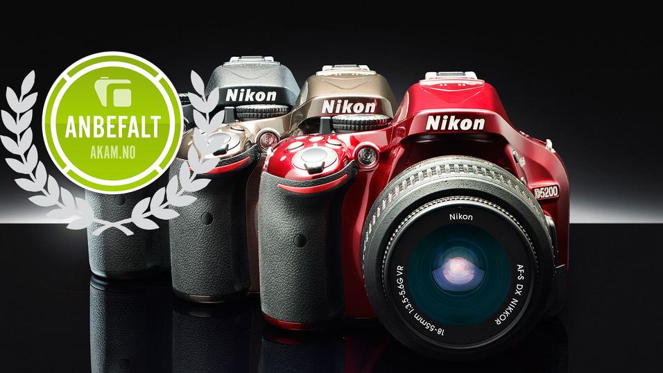 TEST: Nikon D5200