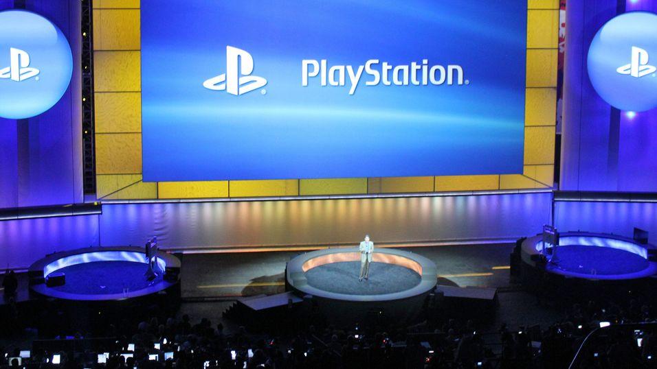 Fra annonseringen av PlayStation 4.