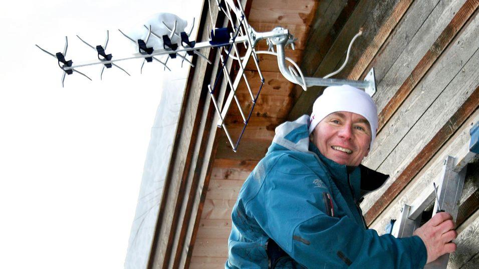 Jens-Petter Gjelseth, informasjonssjef i RiksTV
