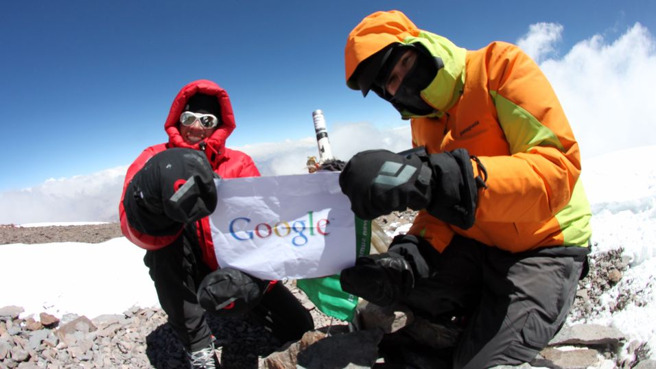 Se Mount Everest med Street View