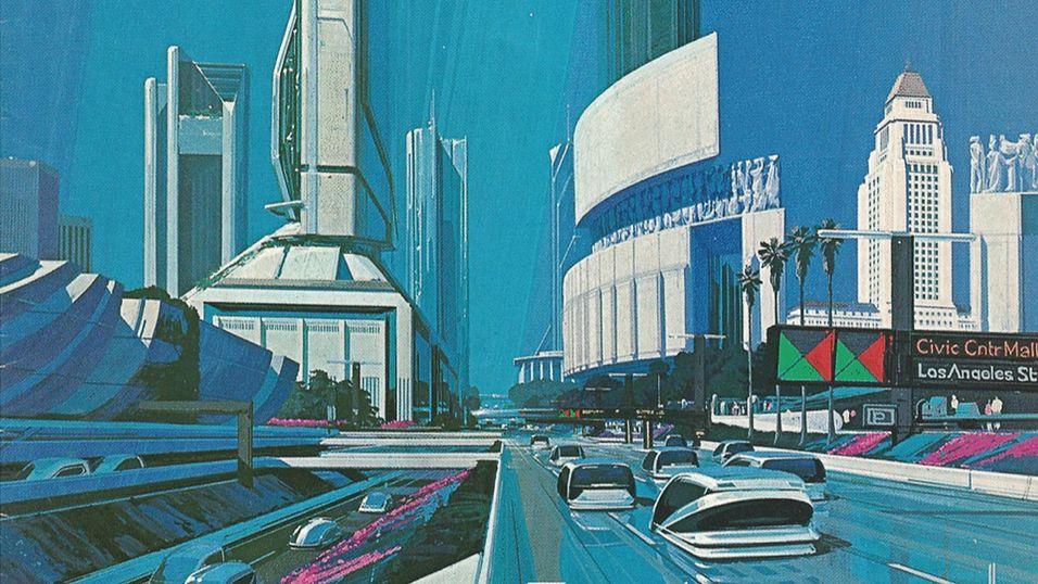 Framtiden ser alltid stilig ut, selv om den bare var 25 år unna som i dette tilfellet fra 1988.