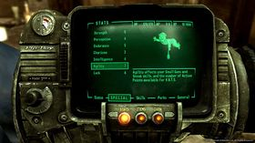 Den originale Pip-Boy 3000.