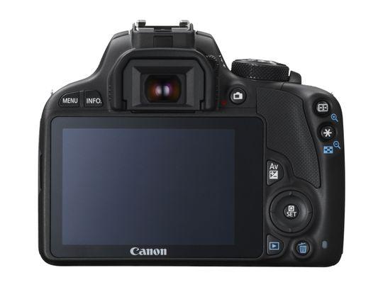 Canon EOS 100D er utstyrt med en trykkfølsom skjerm.