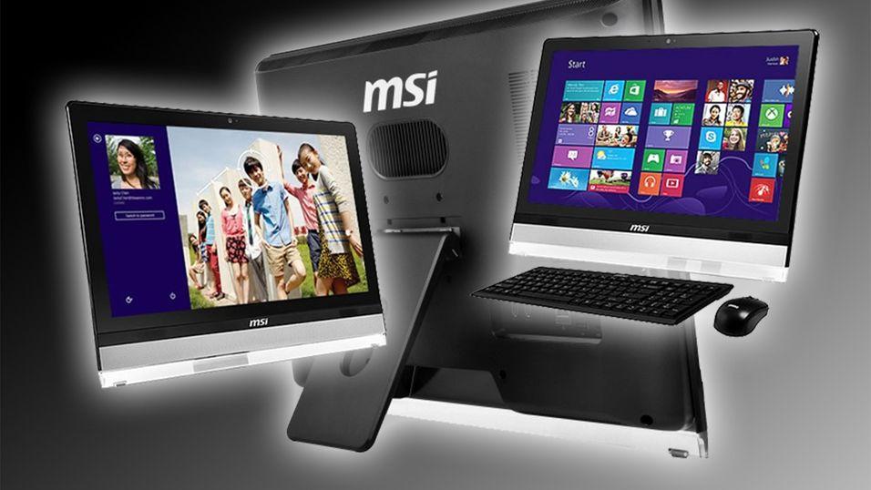 MSI sin nye Wind Top, med spesifikasjoner tilpasset hverdagsbruk.