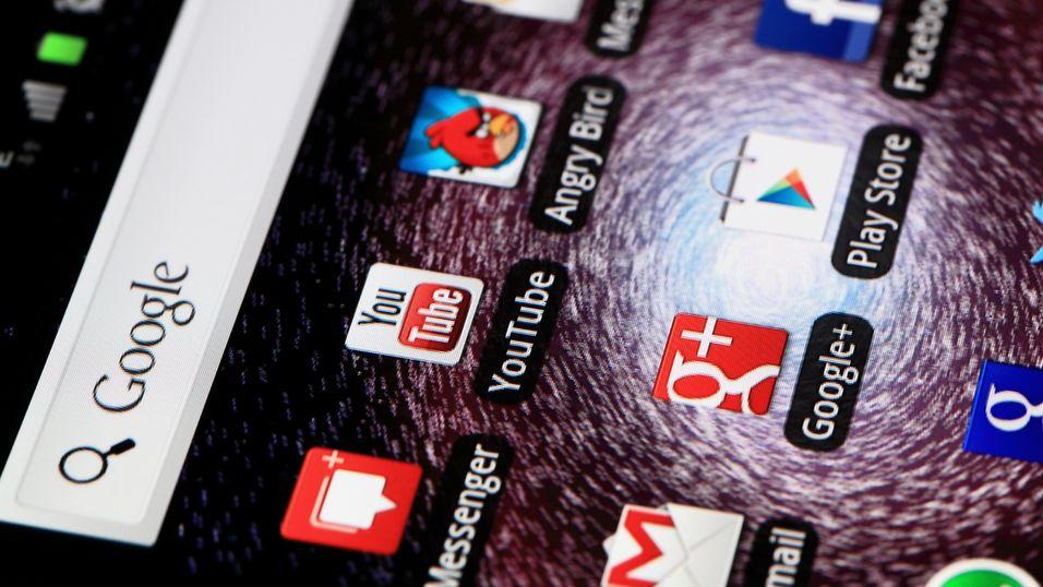 Google Play inneholder mer enn 700 000 Android-apper.