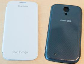 Samsungs flipdeksel kommer selvfølgelig også til Galaxy S4.
