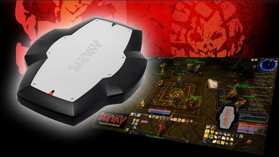 Stinky Footpad gir det ekstra kontroller til PC-spill.