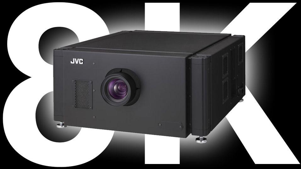 DLA-VS4800 viser to 4K-bilder samtidig, og via litt magi framstår dette som 8K.