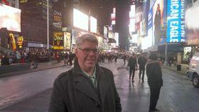 Vi tok bilder med HTC One under svært krevende forhold. Her fra Times Square i New York.
