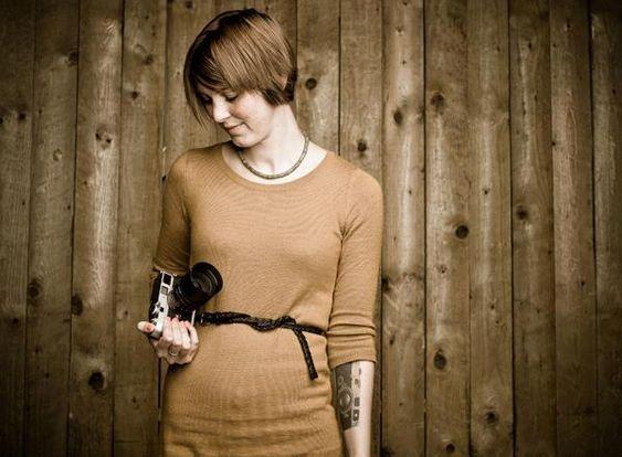 Cecilie Engebretsen fotografert av Leicas fotograf på Photokina 2012.