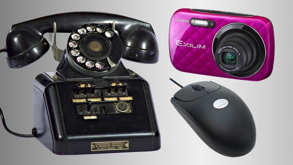 Telefonen på bildet er sannsynligvis ute av generell bruk allerede.