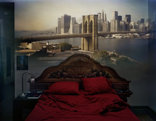 Et eksempel på Camera Obscura tatt av fotografen Alberado Morell.