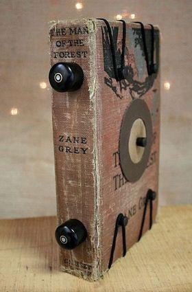 En  bok solgt på nettsdedet Etsy kan brukes som et kamera.