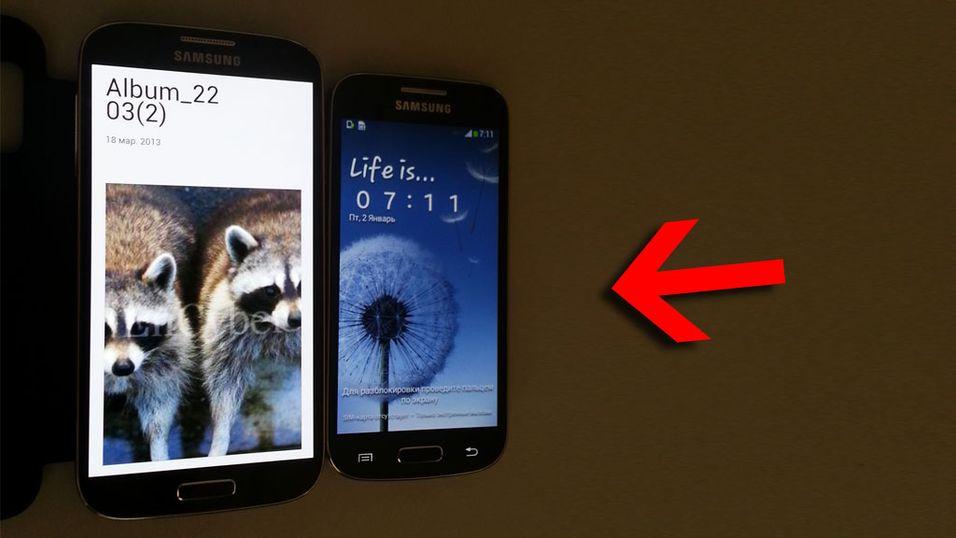 Første bilder av Samsung Galaxy S4 Mini lekket