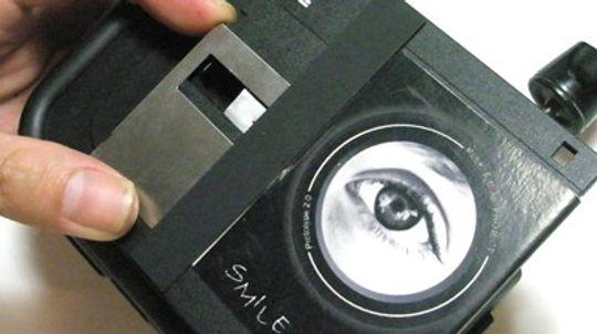 Gruppen Peekfreak lagde kamera fra en gammel diskett.
