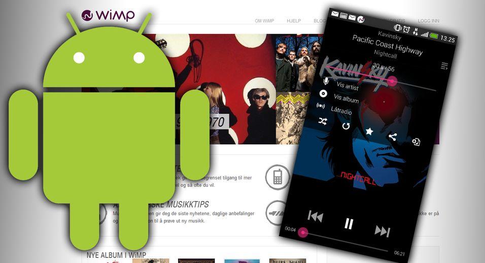 SNIKTITT: Helt ny Wimp-app for Android-mobiler