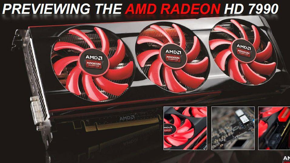 Slik ser det ut: Radeon HD 7990