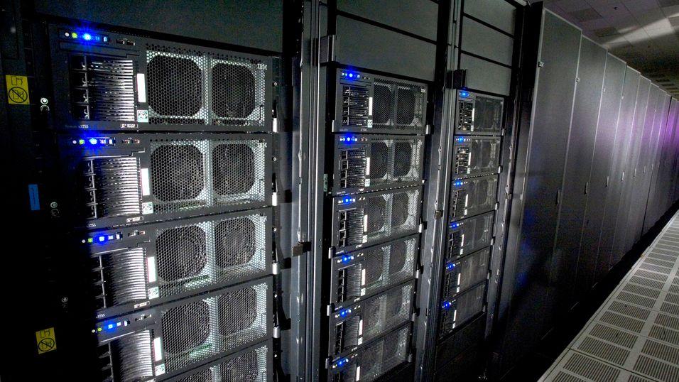 IBMs superdatamaskin Roadrunner.