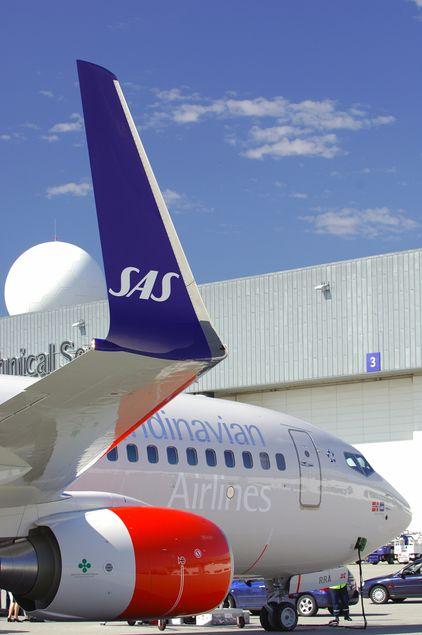 Sky-løsning for SAS-kundene