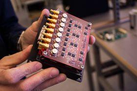 Dette «amperemeteret» er et av satelittens viktigste instrumenter.