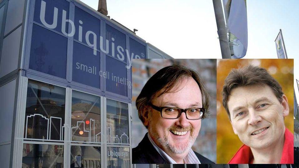 Både Tom Guldberg i Cloudberry Mobile og Geir Løvnes i Tele2 benytter systemer fra Ubiquisys.