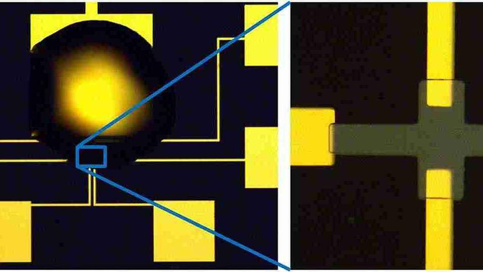Her er IBMs flytende transistor