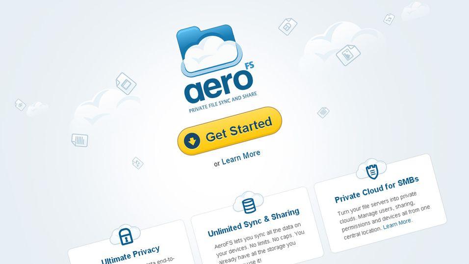 AeroFS lar deg sette opp en privat nettsky.