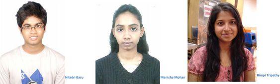 De tre studentene Niladri Basu, Manisha Mohan og Rimpi Tripathy står bak det utradisjonelle undertøyet.