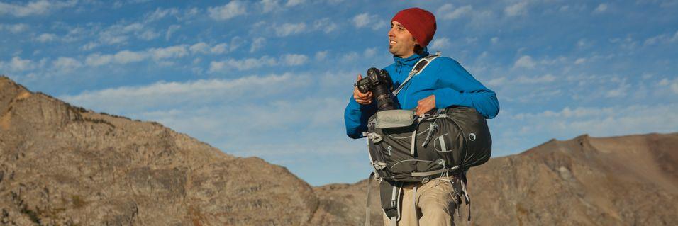 Ryggsekk for aktive fotografer