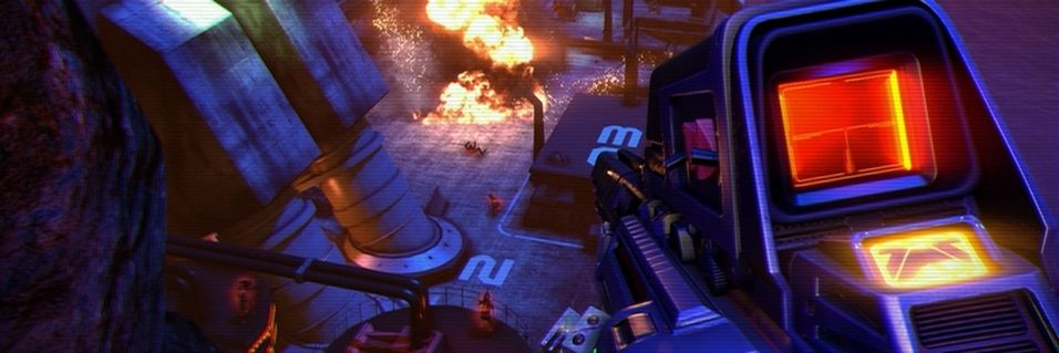 Helsprø bilder fra Far Cry 3: Blood Dragon